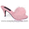 AMOUR-03 Baby Pink Satin